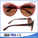 Polarized Lens를 가진 Ladies 새로운 Stylish Fashion PC Sunglasses