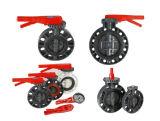 PVC stabile Butterfly Valve di Quality Plastic con il Pieno-formato