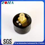 Polegada pneumática da escala dobro 1MPa 40mm/1.5 de calibre de pressão do ar do OEM com o seletor feito-à-medida