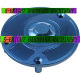 Tapa del tanque de combustible del CNC de aluminio de la motocicleta de encargo