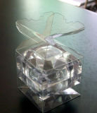 수정같은 꽃 초 플라스틱 수송용 포장 상자 (접히는 상자)