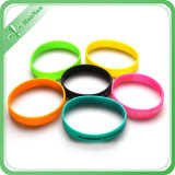 PromotionのためのよいPrice Debossed Silicone Wristband