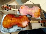 Скрипка Antique музыкальной аппаратуры краснокоричневая для сбывания
