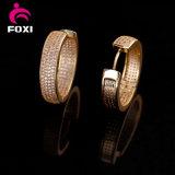 性の女性のための工場価格のLastet 14kの金のイヤリングデザイン