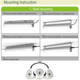 新しいArrival IP65 1.5m 60W Industrial三Proof LED Lamp