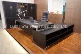 Самомоднейший стол офиса MDF кожи (V3)