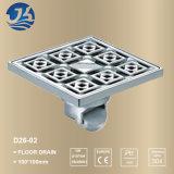 Cuarto de baño de hardware de alto piso de drenaje D26-02 calidad en acero inoxidable