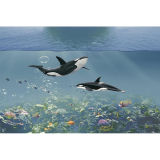 Neuestes Design Seaword 3D Ceramic 3D Wall Tile