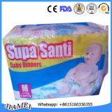 Couche-culotte jetable molle superbe de bébé de Chine