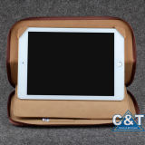 Компьтер-книжка Travel Bag Padfolio Leather для iPad с Pocket