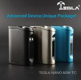 확실한 Tesla Nano 60 와트 온도 조종 상자 Mod Tesla Nano Tc60 와트