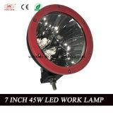 Newst de 7 LEIDENE van de Duim 45W Lamp van het Werk met de Straal van de Vloed in 6000k (Ha-R45W)