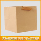 Aufbereiteter Packpapier-Beutel Brown