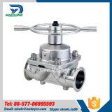 Мембранный клапан нержавеющей стали санитарный (DY-V09)