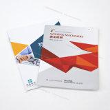 Brochure d'impression de Cmyk, catalogue, livret explicatif, livre personnalisé et attaché, selle piquée, laminage de Matt