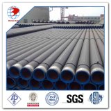 DIN1629 Seamless Caliente-rodado St37 Carbon Steel Pipe con Black Paiting