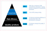 Calentamiento por microondas en el curado de la microonda de la transformación de los alimentos