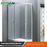 Quarto de chuveiro de alumínio do cerco do chuveiro para a banheira