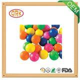 Buena bola coloreada del caucho del alargamiento del silicón