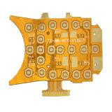 2-laag Flexibele Versteviger PCB+Fr4