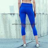 高品質は女性の適性の摩耗のヨガのズボンを接続した