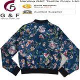 숙녀 폭격기 긴 소매 다채로운 편리한 재킷