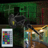 Luz al aire libre resistente fría de la estrella del laser de la luz de la Navidad