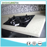 Bianco/Grey Artificial Quartz Stone per Kitchen & Bathroom Countertop/Vanity Top/Slab/Tiles