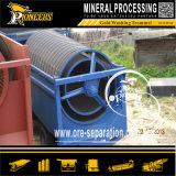 200 Apparatuur van de Goudwinning van de Machines van de Scheiding van de Mijnbouw van de Placer Tph de Beweegbare