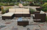 Mobilia esterna del giardino del rattan del PE ed insieme esterno del sofà del rattan