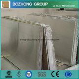 Placa de alumínio desencapada da folha T3 2024 na fonte conservada em estoque