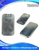 Carcaça feita sob encomenda da prata do telefone de pilha da fabricação (Mobile-018)