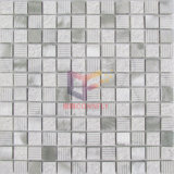 Type mosaïque en aluminium de marbre de mélange (CFA75) de couleur de Brown