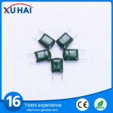 Пленочный конденсатор полиэфира хорошего качества высоковольтный зеленый