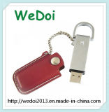 Fördernder Geschenk-Geschäfts-Art-Leder USB (WY-L06)