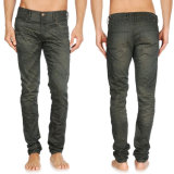 Lo Spandex di modo degli uomini dell'OEM scarno dimagrisce i jeans adatti del denim