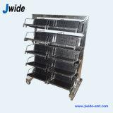 Antistatische PCB Rack Trolley voor SMT Machines