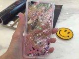 Жидкостное аргументы за iPhone6 PC кристально чистый Sand Quicksand Heart яркия блеска
