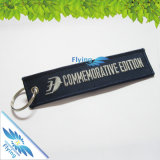 Metal Ringの低価格Embroidery Keychain
