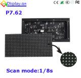 Publicidad de venta caliente LED de la tarjeta de interior de SMD 3 In1 P7.62