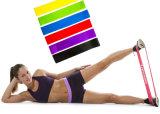L'ensemble de boucle d'exercice de résistance 5 réunit le latex normal de la meilleure qualité de forme physique à la maison de gymnastique