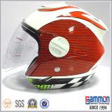 Meio velomotor da face que compete o capacete (OP201)