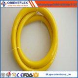 Mangueira de ar de alta elasticidade do PVC do reforço do poliéster
