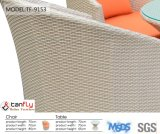 Polônia Dining Set Living Furniture PE Wicker Rattan Garden Chairs