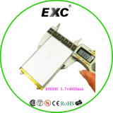 힘 은행을%s Exc606090 3.7V 4000mAh 리튬 중합체 건전지