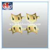 Kundenspezifisches Metall, das Teile maschinell bearbeitetes Teil (HS-ST-042, stempelt)