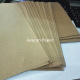 Cartulina del papel de Kraft