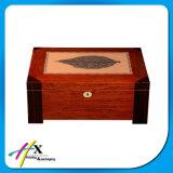 Contenitore di sigaro di legno del Humidor del cedro speciale del reticolo dell'annata a Guangzhou