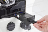 Microscopio biológico invertido certificado Ce del alto rendimiento FM-412