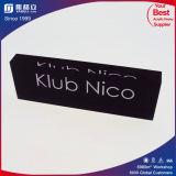 Blocs de logo personnalisés en bloc de blocs d'acrylique